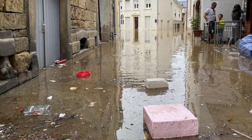 Iwwerschwemmung zu Iechternach