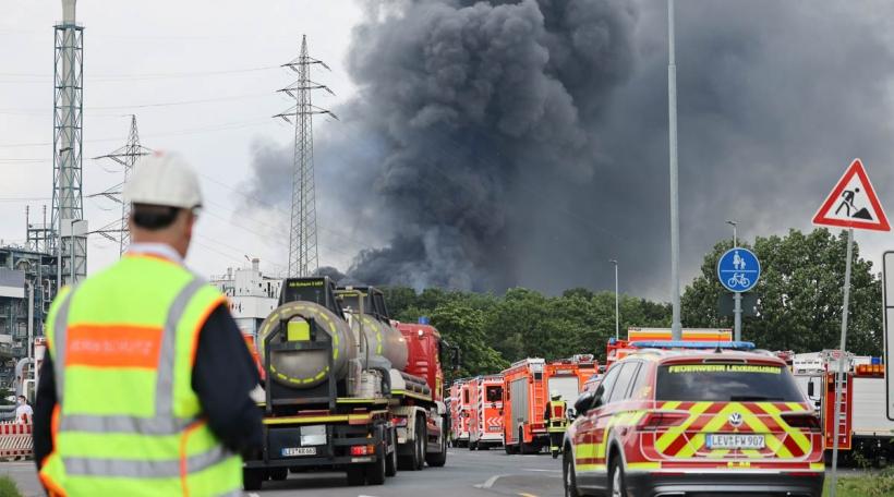 Explosioun Leverkusen