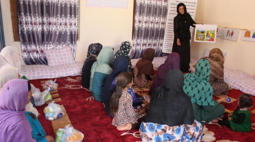 Eng Schoul vun der ONG Afghanistan Libre
