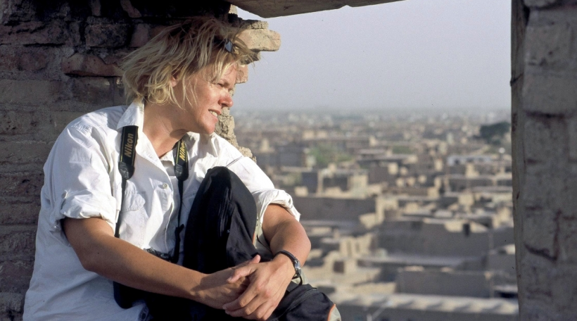 Ursula Meissner am Afghanistan/Herat 2014