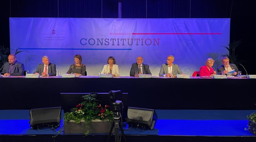 Informatiounsversammlung iwwer nei Verfassung
