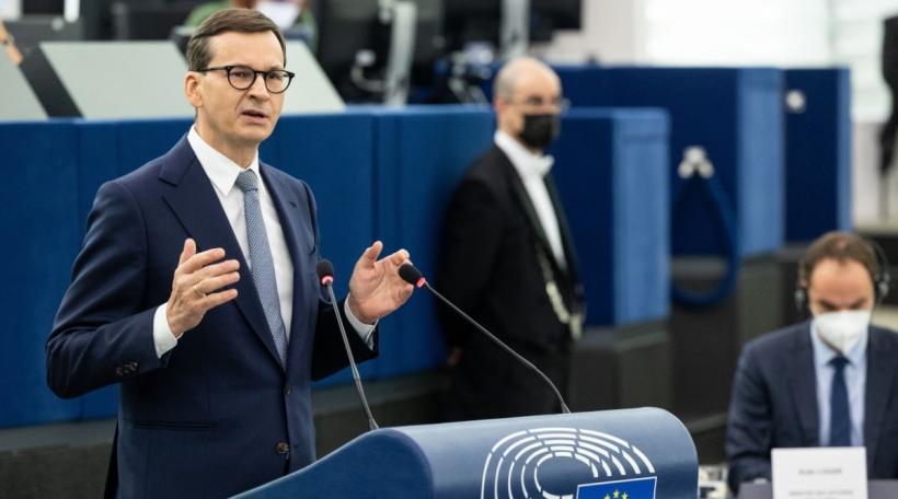 De polnesche Premier Mateusz Morawiecki