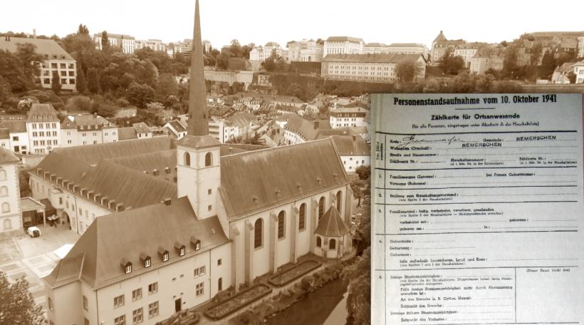 Personenstandsaufnahme vom 10. Oktober 1941