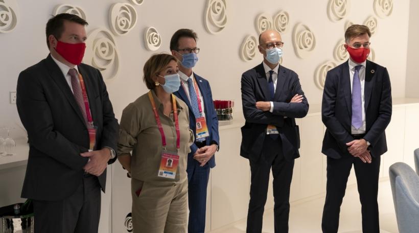 Claude Strasser, Marie-Christine Mariani, Carlo Thelen, Michel Wurth, Franz Fayot